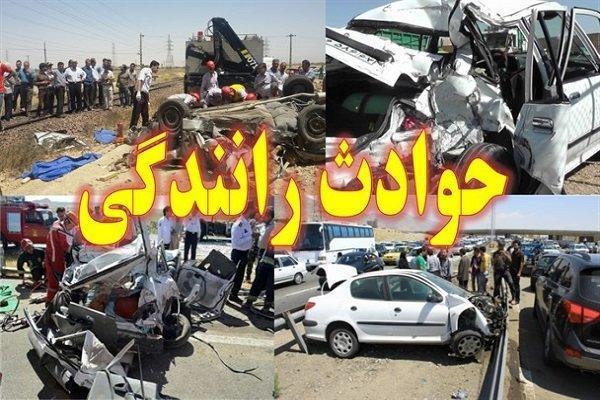 2 کشته و 2 مجروح بر اثر حادثه رانندگی در جنوب سیستان و بلوچستان
