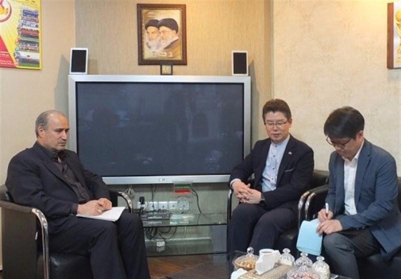 تاج در دیدار با سفیر کره : ارتباط با فوتبال کره جنوبی به پیشرفت و توسعه فوتبال ایران یاری می نماید